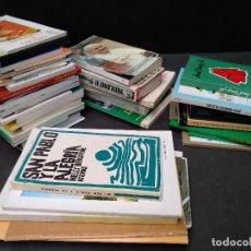 Libros de segunda mano: LOTE DE LIBROS DE RELIGION, CATEQUESIS, TEOLOGIA, ETC. BOLSILLO.. Lote 110301195