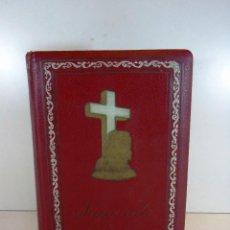 Libros de segunda mano: ANTIGUA SAGRADA BIBLIA VERSION CASTELLANA ED.GROLIER, AÑO 1957. Lote 204199786