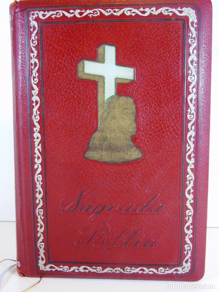 Libros de segunda mano: Antigua sagrada Biblia version castellana Ed.Grolier, año 1957 - Foto 2 - 204199786