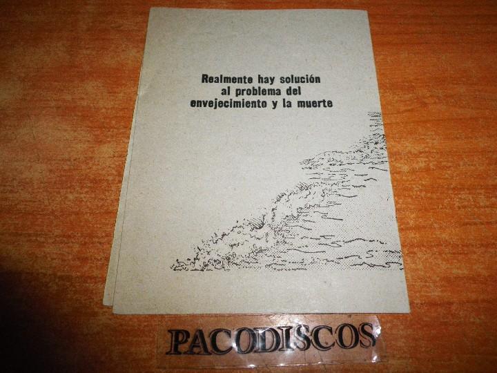 Libros de segunda mano: VIDA Y SALUD PARA SIEMPRE ¿UNA POSIBLILIDAD REAL ? TESTIGOS DE JEHOVA TRATADO PREDICAR WATCHTOWER - Foto 3 - 110488051