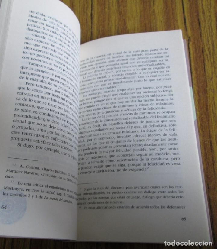 Libros de segunda mano: ETICA CIVIL Y RELIGION - Por Adela Cortina - Ed. PPC - Depósito legal 1995 - Foto 5 - 111376219