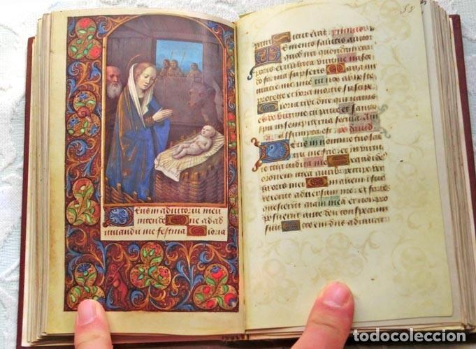 FACSÍMIL ÍNTEGRO DEL OFICIO DE LA VIRGEN (S. XVI), EDICIÓN DE LUJO CON LIBRO DE ESTUDIOS EN ESPAÑOL (Libros de Segunda Mano - Religión)