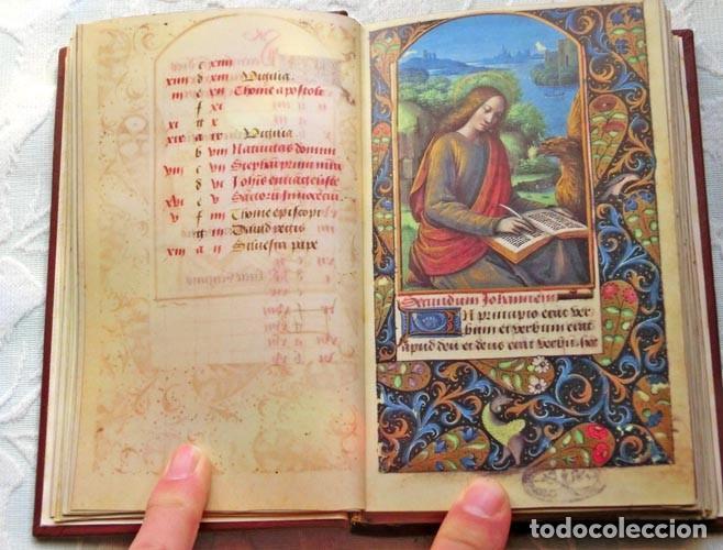 Libros de segunda mano: Facsímil íntegro del Oficio de la Virgen (s. XVI), edición de lujo con libro de estudios en español - Foto 2 - 111675671