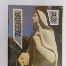 Libros de segunda mano: AGENDA 1982 / IV CENTENARIO SANTA TERESA - SIN USAR. Lote 111995315