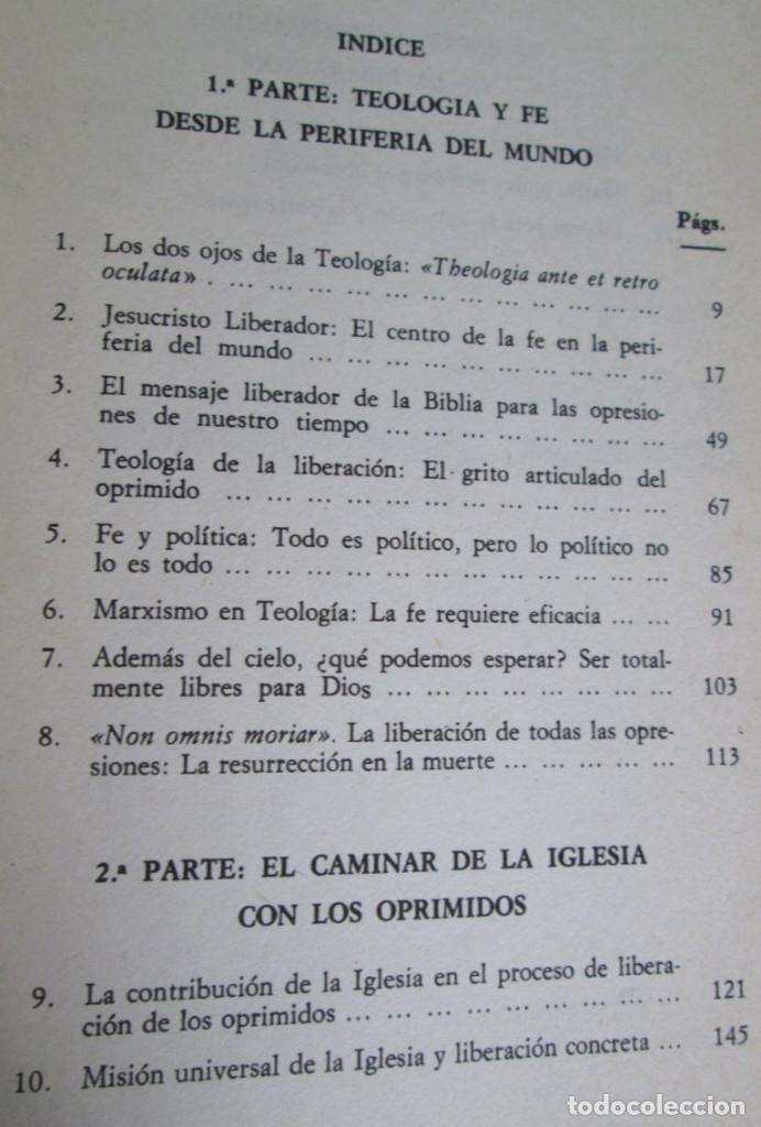 Libros de segunda mano: LA FE EN LA PERIFERIA DEL MUNDO - El caminar de la iglesia con los oprimidos - Por Leonardo Boff - Foto 3 - 112141859