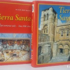 Libros de segunda mano: TIERRA SANTA. EN 2 TOMOS:-TIERRA SANTA: A QUI COMENZÓ TODO HACE 2000 AÑOS - SIGUIENDO LOS PASOS DE J. Lote 112181999