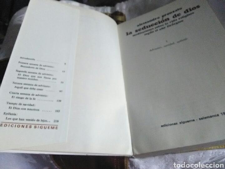 Libros de segunda mano: La seducción de Dios. A. Pronzato. Ed. Sígueme. 1973. - Foto 2 - 112183099