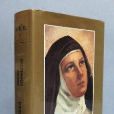 Libros de segunda mano: OBRAS COMPLETAS. SANTA TERESA. M. E. C.. Lote 112703991