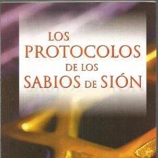 Libros de segunda mano: LOS PROTOCOLOS DE LOS SABIOS DE SION. Lote 112751919