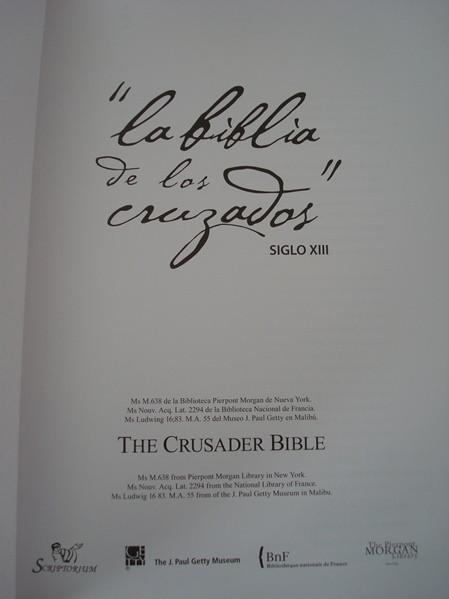 Libros de segunda mano: La Biblia de los Cruzados, s. XIII, en pergamino natural (5*+). Facsímil. Scriptorium - Foto 7 - 111949443