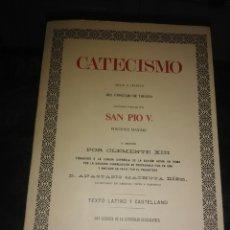 Libros de segunda mano: CATECISMO PARA LOS PÁRROCOS (SAN PÍO V). ED. MAGISTERIO, 1972.. Lote 179082888