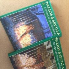 Libros de segunda mano: 18L191 PALIOS DE SEVILLA. TOMOS 1 Y 2. EDICIONES TARTESSOS. SEMANA SANTA. Lote 113077802