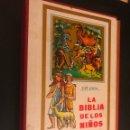 Libros de segunda mano: LA BIBLIA DE LOS NIÑOS. PIET WORM. . Lote 130483423