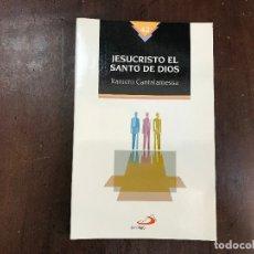 Libros de segunda mano: JESUCRISTO EL SANTO DE DIOS - RANIERO CANTALAMESSA. Lote 113463948