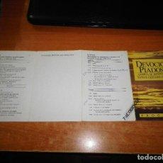 Libros de segunda mano: PROGRAMA DE MANO ASAMBLEA DISTRITO DE LOS TESTIGOS DE JEHOVA DEVOCION PIADOSA. Lote 113608811