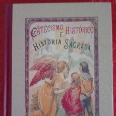 Libros de segunda mano: LIBRO CATECISMO HISTÓRICO E HISTORIA SAGRADA. Lote 113935327