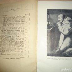 Libros de segunda mano: ORDEN DE LA MERCED ESTUDIOS SOBRE SAN PEDRO NOLASCO 1956. Lote 114313955