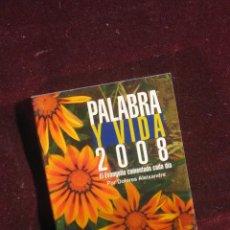 Libros de segunda mano: PALABRA Y VIDA 2008. Lote 115037279