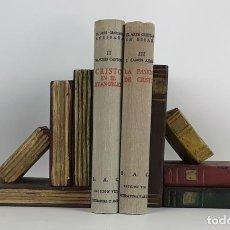 Libros de segunda mano: LOS GRANDES TEMAS DEL ARTE CRISTIANO EN ESPAÑOL. TOMO II Y III. BAC. 1949-1950.. Lote 115059827