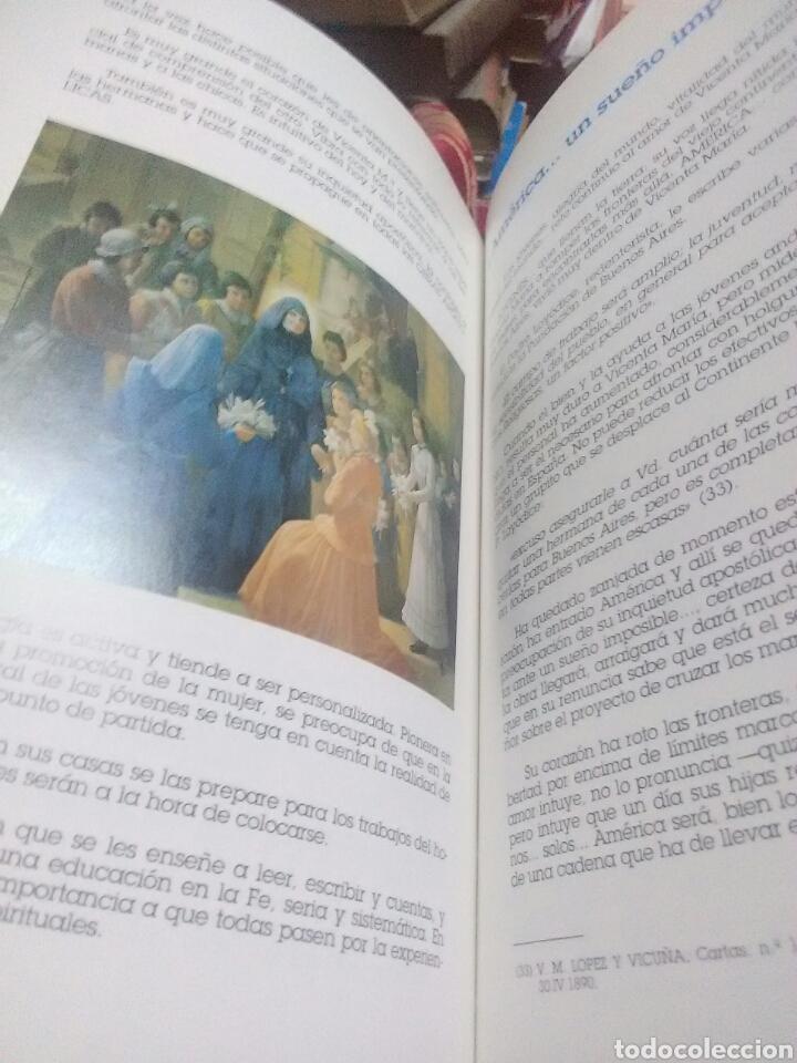 Libros de segunda mano: Huellas de amor. Vicenta M. López y Vicuña. R.M.I. 1989. - Foto 3 - 115146438