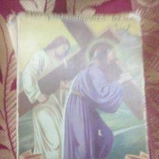 Libros de segunda mano: CAMINANDO CON JESÚS AL CALVARIO. PÍO DE MONDREGANES. 1960.. Lote 115147156