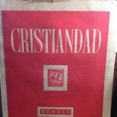 Libros de segunda mano: LIBRO CRISTIANDAD EDICIONES SARDÁ. Lote 115414655