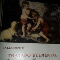 Libros de segunda mano: TRATADO ELEMENTAL DE PEDAGOGÍA CATEQUISTA, D. LLORENTE, ED. CASA MARTÍN. Lote 115486075