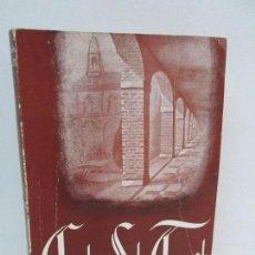 Libros de segunda mano: CARTAS DE SANTA TERESITA DEL NIÑO JESUS. FR. EMETERIO G. SETIEN DE J.M. EDITORIAL MONTE CARMELO 1954. Lote 115538931