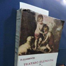 Libros de segunda mano: TRATADO ELEMENTAL DE PEDAGOGÍA CATEQUÍSTICA. LLORENTE, DANIEL. ED. CASA MARTIN. VALLADOLID 1952. . Lote 115543179