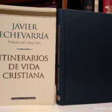 Libros de segunda mano: ITINERARIOS DE VIDA CRISTIANA. ECHEVARRÍA, JAVIER, PLANETA, 2001. ISBN 8408037854. . Lote 115587583