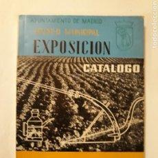 Libros de segunda mano: LIBROS RELIGIÓN MADRID - LOS SANTOS PATRONOS DE MADRID CATÁLOGO EXPOSICIÓN 1962. Lote 115606886