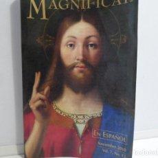 Livros em segunda mão: REVISTA MAGNIFICAT NOVIEMBRE 2010 VOL. 7 Nº 13. . Lote 115729339