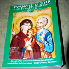 Libros de segunda mano: EVANGELIO 2018 CON EL PAPA FRANCISCO.. Lote 116328123