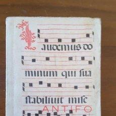 Libros de segunda mano: ANTIFONARIO DE LA MISA - AÑO 1967. Lote 116441643