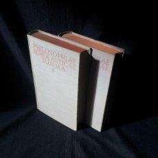 Libros de segunda mano: PHILOSOPHIAE SCHOLASTICAE SUMMA 2 TOMOS - BIBLIOTECA DE AUTORES CRISTIANOS 1953/55. Lote 116626075