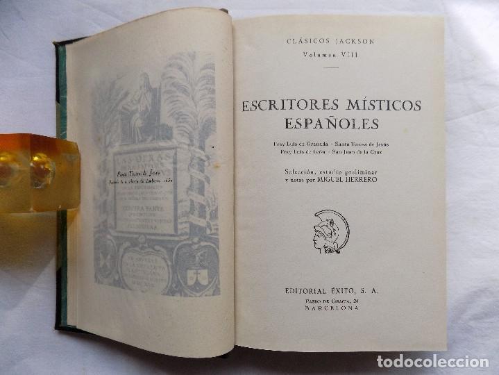 LIBRERIA GHOTICA. MIGUEL HERRERO. ESCRITORES MÍSTICOS ESPAÑOLES. 1957. BUENA EDICIÓN. MÍSTICA. (Libros de Segunda Mano - Religión)