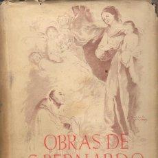 Libros de segunda mano: OBRAS DE SAN BERNARDO (BAC, 1947). Lote 116999615