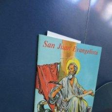 Libros de segunda mano: VIDA DE SAN JUAN EVANGELISTA. MARTÍN SÁNCHEZ, BENJAMÍN. ED. APOSTOLADO MARIANO. GRANADA 1999. Lote 117015627