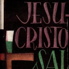 Libros de segunda mano: JESUCRISTO SALVADOR / TOMÁS CASTRILLO (BAC 1957). Lote 117185267