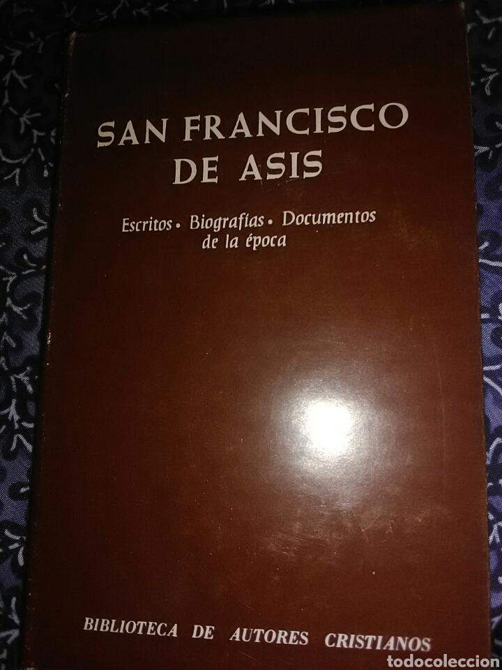SAN FRANCISCO DE ASÍS, ESCRITOS, BIOGRAFÍAS, DOCUMENTOS. J.A. GUERRA. BAC, Nº 399. 1ª ED. 1978. (Libros de Segunda Mano - Religión)