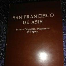 Libros de segunda mano: SAN FRANCISCO DE ASÍS, ESCRITOS, BIOGRAFÍAS, DOCUMENTOS. J.A. GUERRA. BAC, Nº 399. 1ª ED. 1978.. Lote 197879070