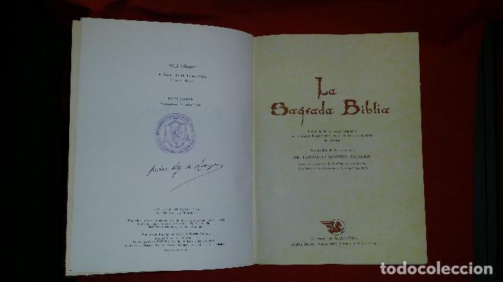 Libros de segunda mano: LA SAGRADA BIBLIA - Dr. Fernando Quiroga Palacios - Foto 4 - 117459595