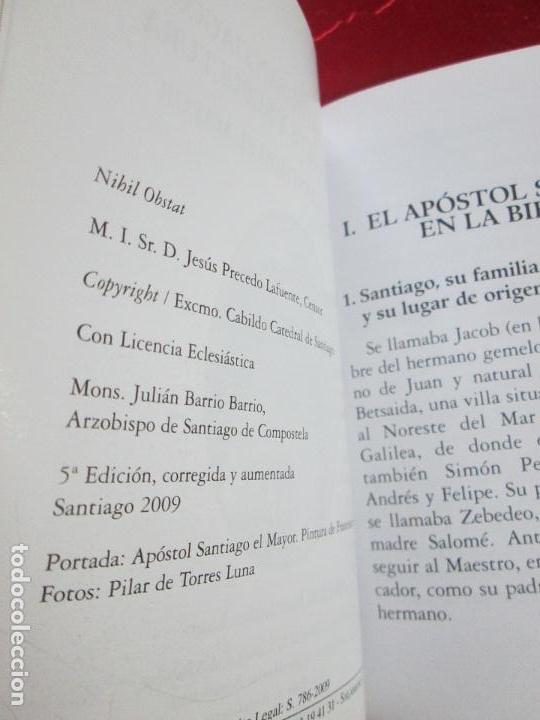 Libros de segunda mano: novenario a santiago el mayor-2009-el apostol santiago:vida,muerte y sepultura-josé fdez lago - Foto 4 - 117479215
