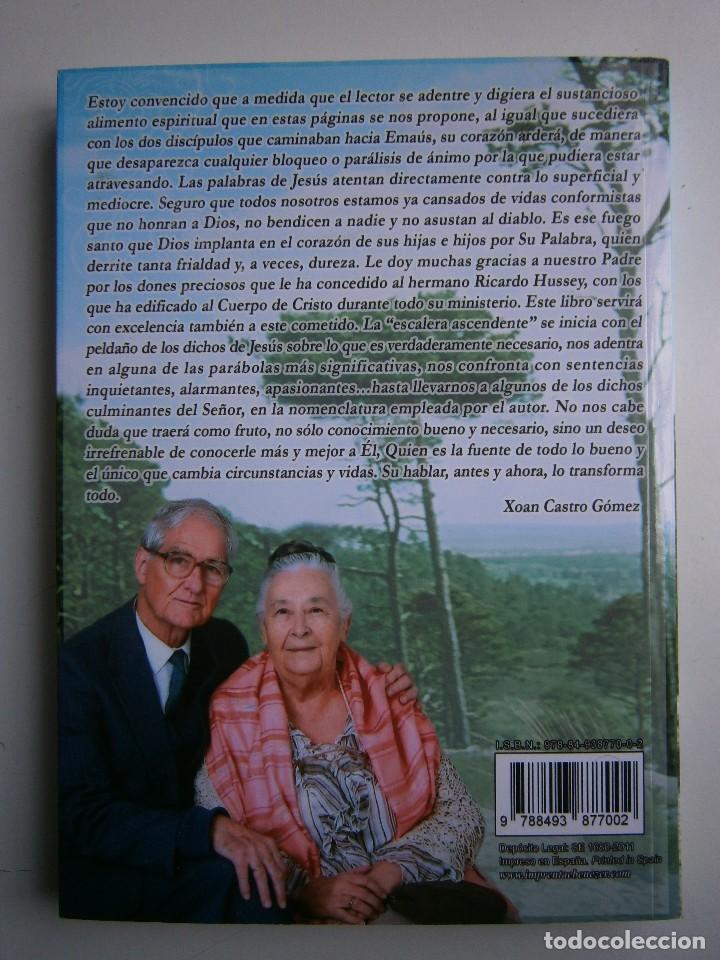 Libros de segunda mano: LOS DICHOS DE JESUS Ricardo Hussey Firma autor 1 edicion 2011 - Foto 4 - 117528575