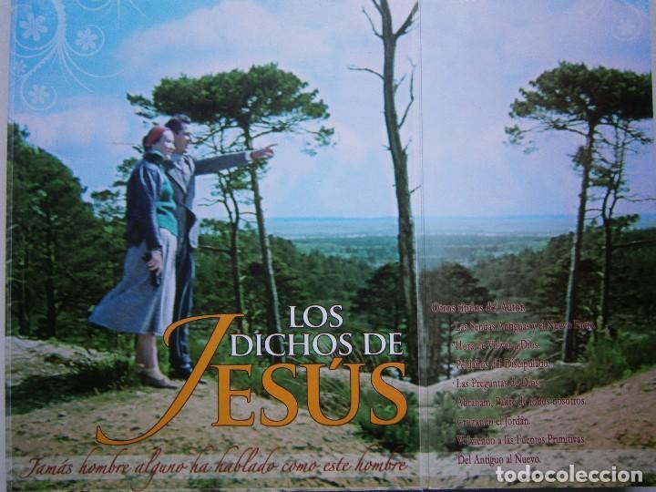 Libros de segunda mano: LOS DICHOS DE JESUS Ricardo Hussey Firma autor 1 edicion 2011 - Foto 6 - 117528575