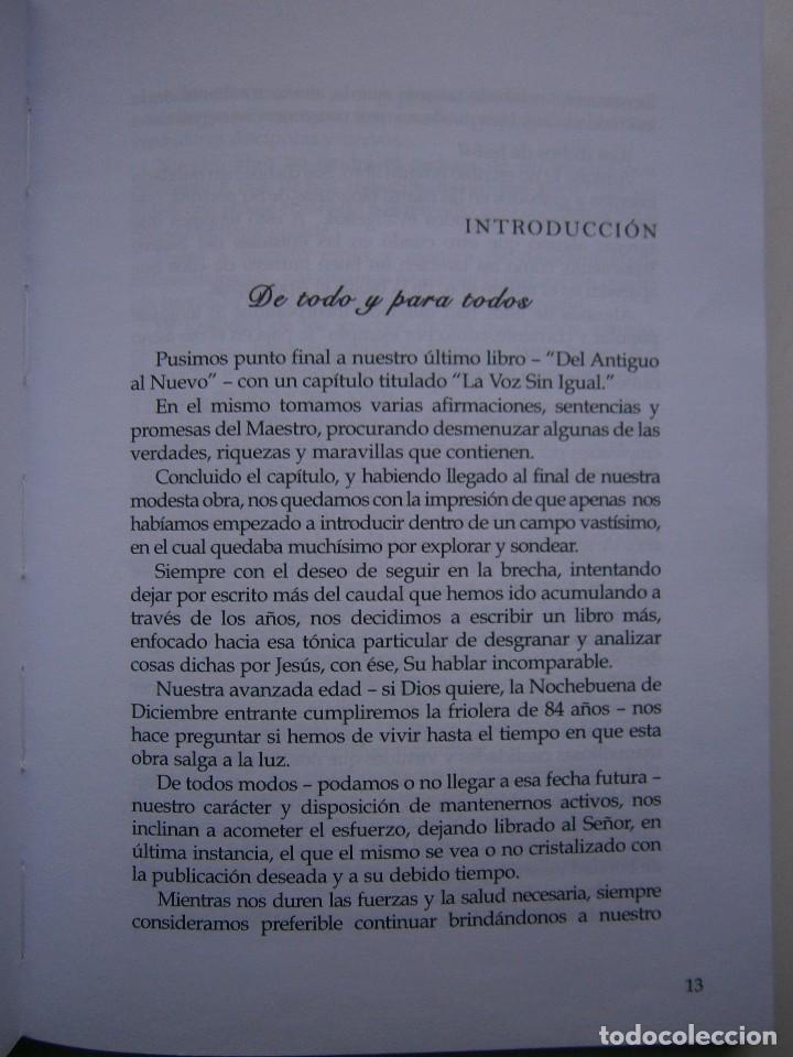 Libros de segunda mano: LOS DICHOS DE JESUS Ricardo Hussey Firma autor 1 edicion 2011 - Foto 13 - 117528575