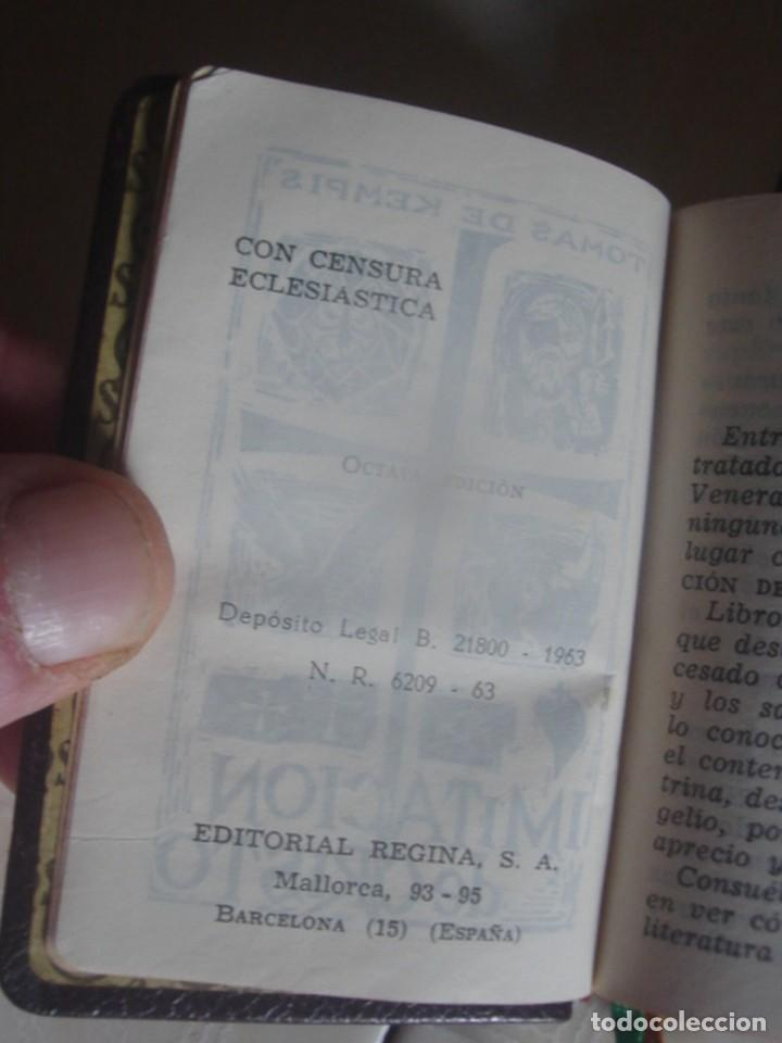 Libros de segunda mano: Imitación de Cristo, de Tomás de Kempis. Regina, 1963. Miniatura. - Foto 2 - 117564563