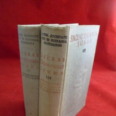 Libros de segunda mano: SACRAE THEOLOGIAE SUMMA TOMOS III Y IV. B.A.C.. Lote 117723639