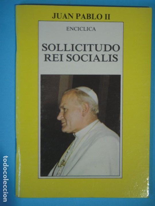 sollicitudo rei socialis - 7ª enciclica de juan - Comprar Libros ...