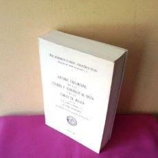 Libros de segunda mano: HISTORIA DOCUMENTAL DE LAS COFRADIAS Y HERMANDADES DE PASION DE LA CIUDAD DE MALAGA - FACSIMIL 2005. Lote 117934823